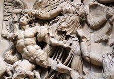 Antique greece sculpture. Im museum Stock Photos