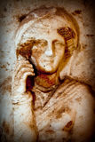 Antique Greek Art Barble Background Royalty Free Stock Photography