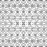 Lattice Tiles Seamless Texture Pattern. Antique greek ceramic flower decoration outline in a white background. Lattice wrapping paper Stock Photos