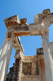 Antique Greek ruins in Efesus, Turkey Royalty Free Stock Photography