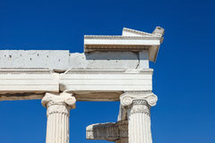 Antique greek temple in Athens Royalty Free Stock Photography