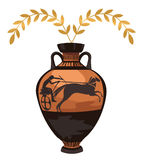 Antique Greek Vase Royalty Free Stock Images