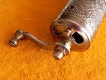 Free Antique Grinder Turmeric Stock Image - 30337841
