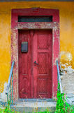 Antique grunge door Stock Photo