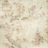 Antique grunge floral background Royalty Free Stock Image