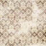 Antique grungy damask wallpaper Royalty Free Stock Photo
