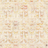 Antique grungy Vintage style botanical butterfly background on wood Royalty Free Stock Image