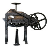 Antique guillotine Stock Image