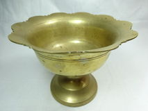 Antique hand washer bowl Stock Images