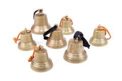 An antique handbells Royalty Free Stock Photo