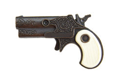 Antique handgun Royalty Free Stock Photography