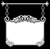 Antique Hanging Sign Royalty Free Stock Photography