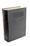 Antique Hardcover Book Isolated On Royalty Free Stock Photos