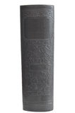 Antique Hardcover Book isolated on White royalty free stock photo