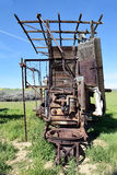Antique Harvester Stock Photos