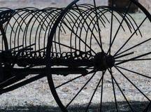 Antique hay rake Stock Photo