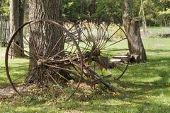 Antique Hay Rake Stock Images