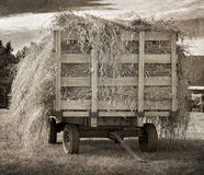 Free Antique Hay Wagon Royalty Free Stock Photo - 33754175