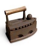 Antique Heavy Iron Isolated stock photo