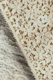 Antique heirloom lace. Stock Image
