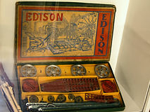 Antique Historical Children's EDISON Royalty Free Stock Photos