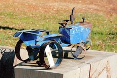 Antique Homemade Toy Stock Photo
