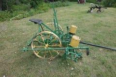 An antique horse-drawn farming tool Royalty Free Stock Photo