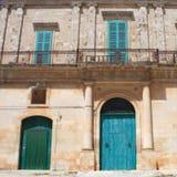Antique House facade Stock Photography
