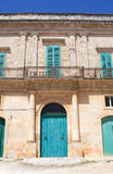 Antique House facade Royalty Free Stock Image