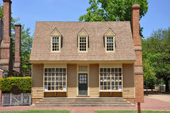 Antique House in Williamsburg Stock Photography