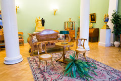 Antique household items in  Hermitage in St. Petersburg Stock Photography