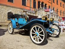 Classic American Vintage Car Show stock image
