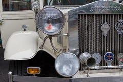 Antique Imperial Landaulette car front close-up Stock Photo