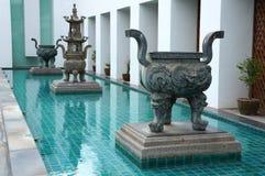 Antique incense burner. Stock Images