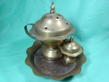 Antique incense burner Royalty Free Stock Photos