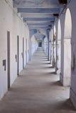 Antique indian prison corridor. Port Blair in India, Asia Stock Images