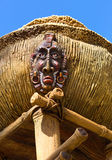 Antique indigenous idol Royalty Free Stock Photography