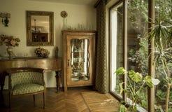 Antique interior stock photography