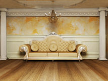 An antique interior Stock Image