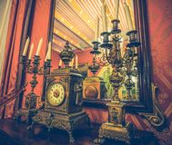 Antique interrior Royalty Free Stock Image