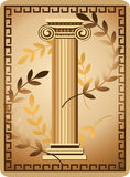 Antique Ionic Column Stock Photos