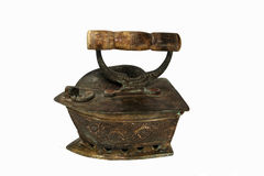 Antique iron Stock Image