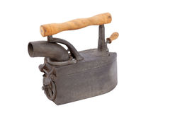 Antique iron. Stock Photo