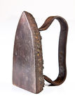 Antique Iron. Iron antique ancient oldstyle oldvery heavy and strong Stock Photos