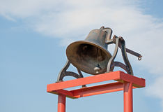 Antique iron church bell Royalty Free Stock Image