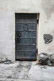 Antique iron door Royalty Free Stock Photo
