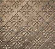 Antique iron door texture in Royal Wawel Castle Royalty Free Stock Images