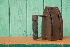 Antique iron in the exterior Royalty Free Stock Photos