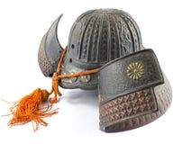 Antique Iron Samurai Helmet Stock Photography