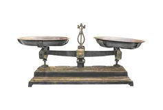 Antique iron scale Royalty Free Stock Photography
